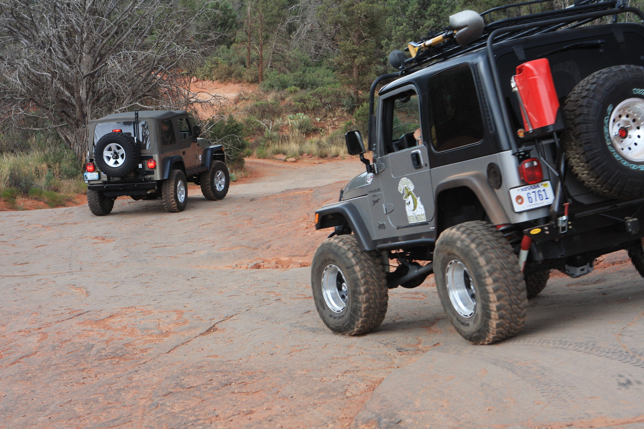 Another couple from our campground joined us in our off-road trail riding.  It was nice to have company out there:)