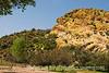 A rock formation in the desert outside Phoenix, Arizona