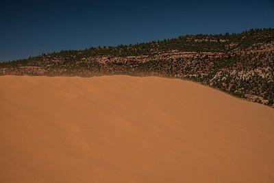 Pink Coral Sand Dunes State Park Utah.