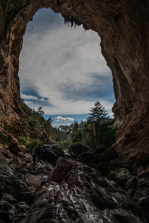 Tonto Natural Bridge State Park Arizona.