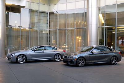 BMW 650i & M235