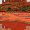 109- A refletion of the cathedral rock.  Alice took picture #203 showing me how I took the picture