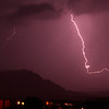 118- To capture this thunderstorm, set tv=30 seconds, get a little foreground, then click every 30 seconds.