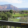 119-Golf course view from our resort one bedroom apt.