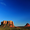 110- Moonrise over courthouse butte and bell rock