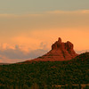 117- Bell rock as sunset