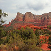 107- Beautiful red rock mountains