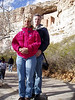 Montezuma Castle Kent and Wendy