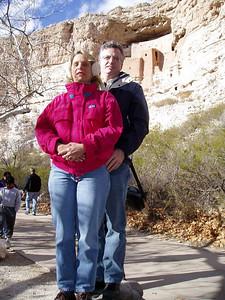 Montezuma Castle Kent and Wendy