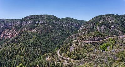 Oak Creek Canyon Switchbacks
