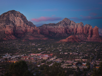 West Sedona at dusk