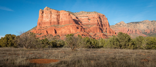 Red Rock Ranger District. Courthouse Butte
