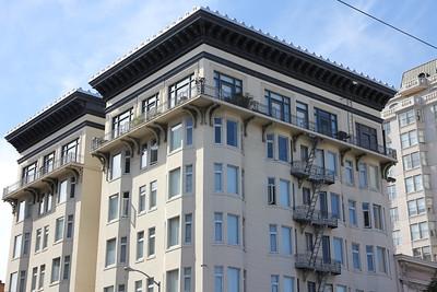Van Ness Avenue and Bush Street, San Francisco.  September 8th, 2011.