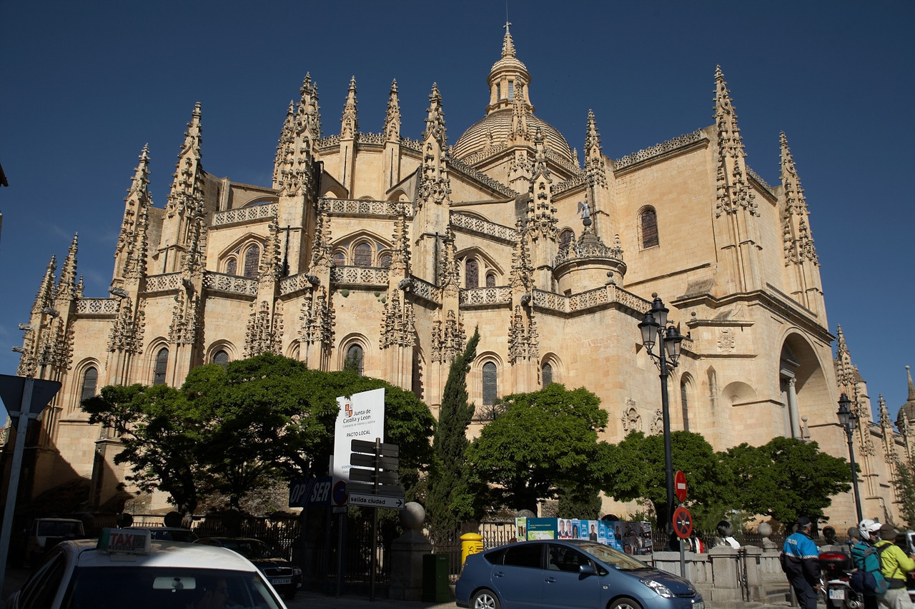 The Cathedral of Segovia.