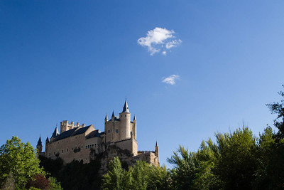 Alcazar from below