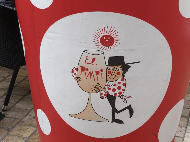El Pimpi Bar (El Pimpi = Tourist Guide)