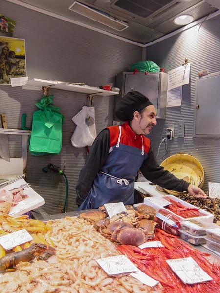 Indoor market, Malaga