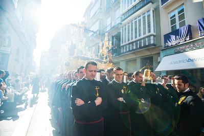 SEMANA SANTA DE MÁLAGA - Procesión de la Hermandad de la Nueva Esperanza
