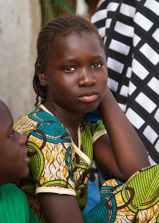 Beautiful teenage Senegalese girl