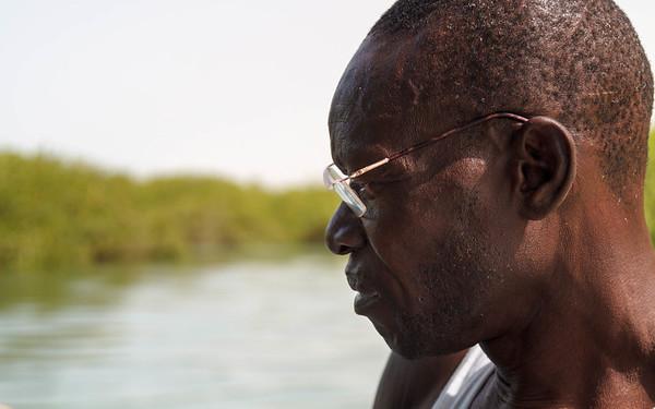 Portrait riverboat man