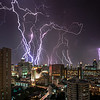 Traffic flowed. Neons glowed. Suddenly, a storm! Lightnings popped. And Bangkok stopped.