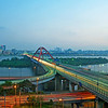 Seogang Bridge & Bamseom Island
