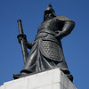 Admiral Yi Sun-Sin defeated the Japanese Navy in 1592.
