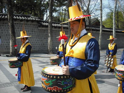 Guard ceremony.