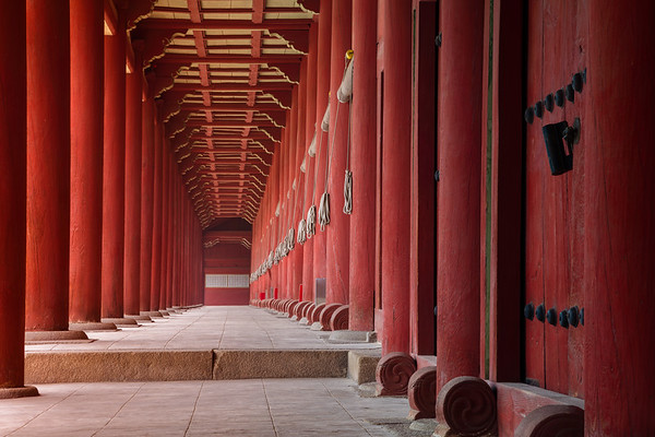 Jongmyo Shrine.