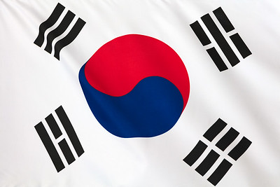 South Korean Flag.