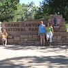 9/9 - leaving Grand Canyon National Park - Me, Jenny, Olivia, Amy