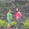9/10 - me and Jenny at Sunset Crater N.M. lava flow
