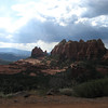 9/9 - another view of cow pie formation - Sedona