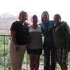 9/10 - Olivia, Amy, Jenny and I at Orchards Inn - Sedona