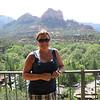 9/10 - balcony at Orchards Inn - Sedona