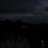 9/9 - night view from our balcony at Orchards Inn - Sedona