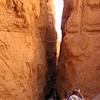 9/12 - slot canyon at Bryce