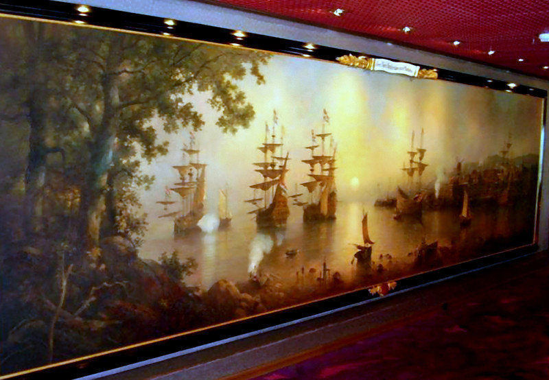 "Art aboard the Westerdam. ""The Dutch heritage in the New World.""  (Beyond Ships file photos.)"