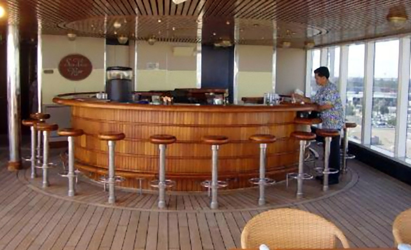 The Sea View bar (Beyond Ships file photo.)