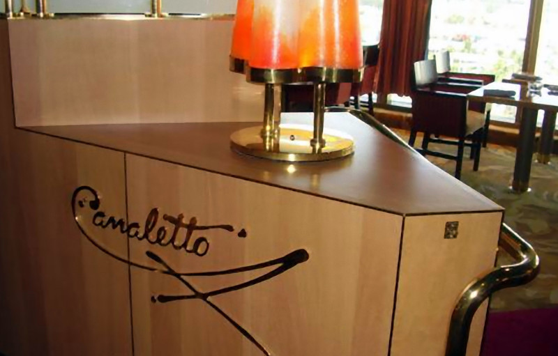 Camaletto is the Westerdam's informal Italian specialty restaurant. (Beyond Ships file photo.)