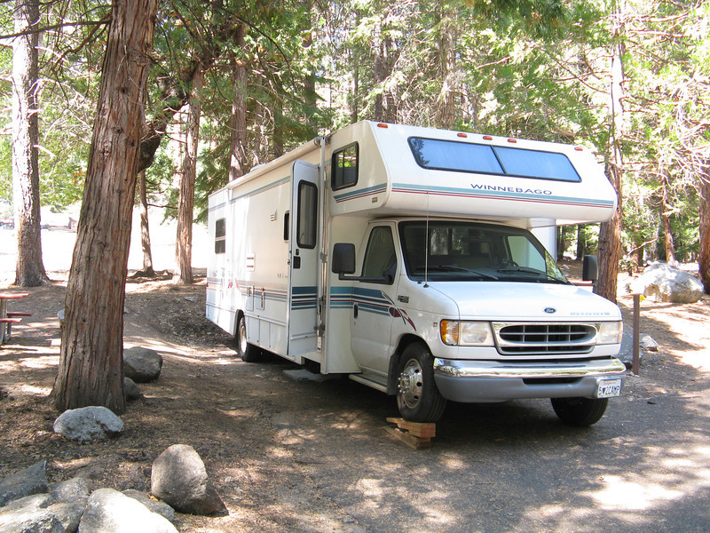 Our RV in the campground.