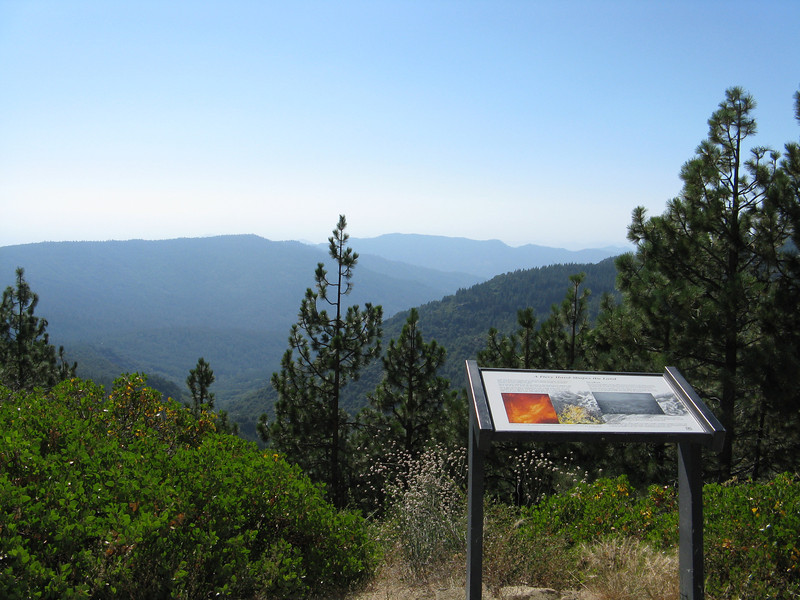 Looking west to the central valley.