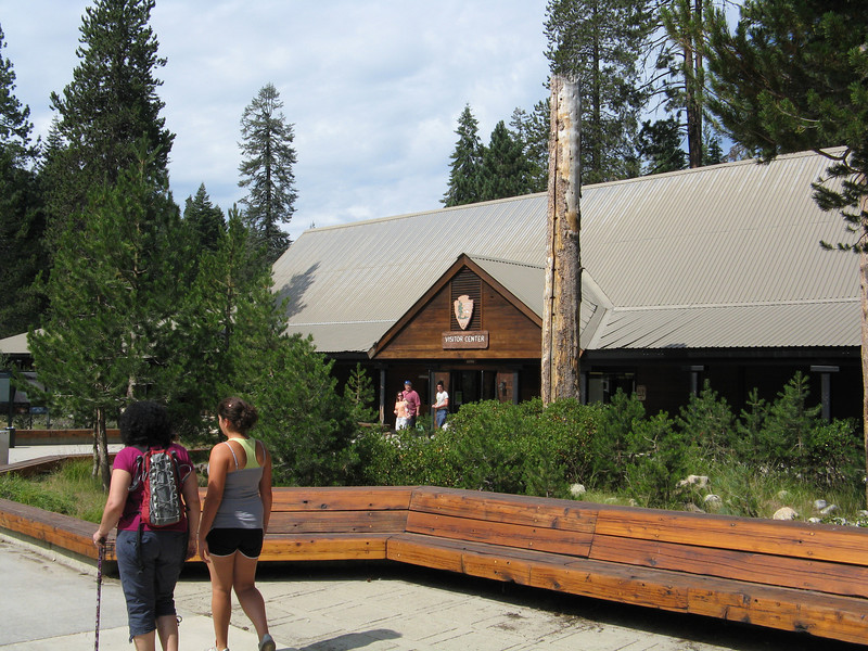 Next morning we took the shuttle bus from the campground over to the Lodgepole Visitor Center.
