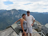 Marissa and Bruce at the top of Moro Rock.