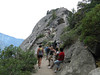 We took another shuttle to the Moro Rock and Crescent Meadow area.
