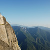 Moro Rock<br /> See why I don't recommend it for people that don't like heights?