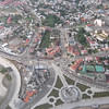 Bata EG from the helicopter