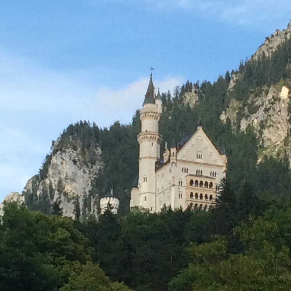 There it is, Schloss Neuchtwanstein.  That was one of the big objectives of this trip.