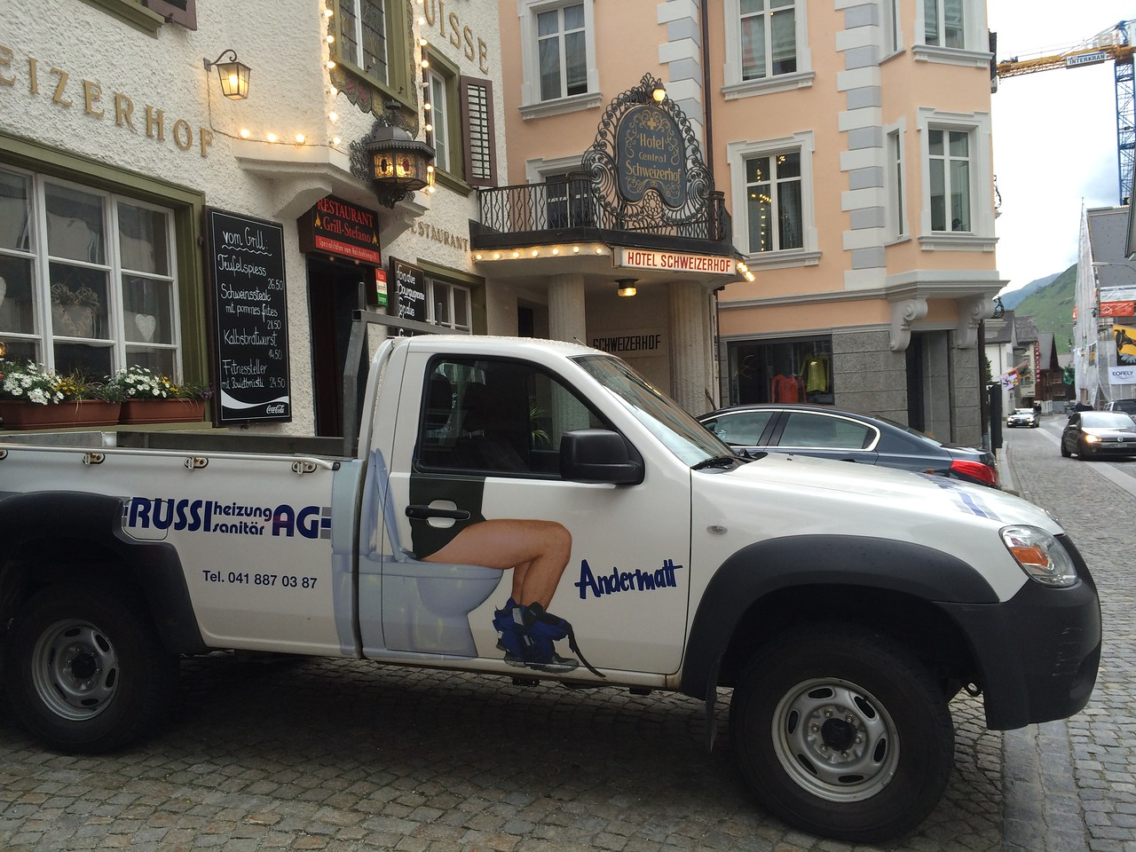 What else would a plumber's truck look like?