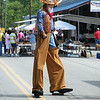 "The town ""giant"". He was full of laughs, wanding around town on his stilts.."